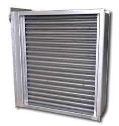 大型双金属铝轧散热器 非标空气散热器定制