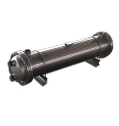 管壳式换热器 铜管冷凝器