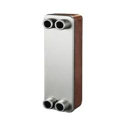钎焊板式换热器 造纸工业加热洗浆液专用换热器 制冷配套专用板式换热器