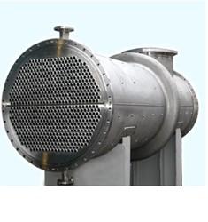 酒精行业 不锈钢管壳式换热器(列管换热器)