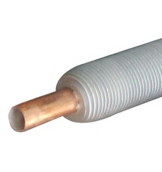 铜铝复合轧片式翅片管