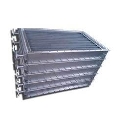 不锈钢制绕片式空气散热器 带法兰接口散热器