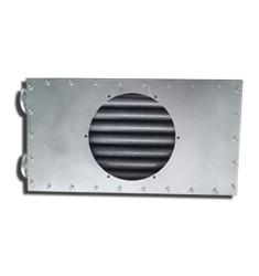 烘房烘干增温 钢制绕片空气散热器