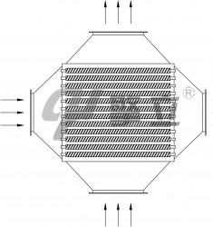 烟气-空气热回收器